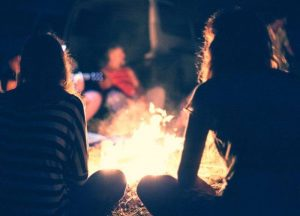 Women's Ministry Bonfire